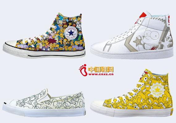资讯生活Converse今春再推辛普森一家主题鞋款