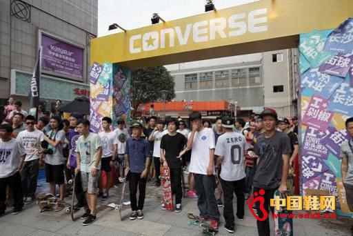 资讯生活CONVERSE举办创意街头派对引爆激情夏日