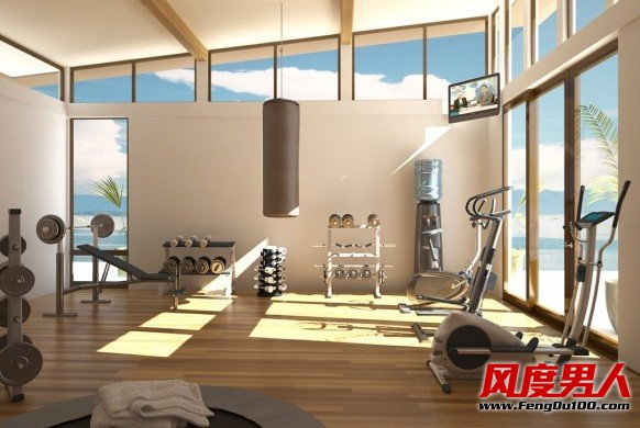 资讯生活宅男白领们是如何打造家庭健身房的?